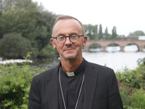 The Bishop of Worcester, Dr John Inge, spoke about 2020 and how, like many people, he would be relieved to see it come to an end