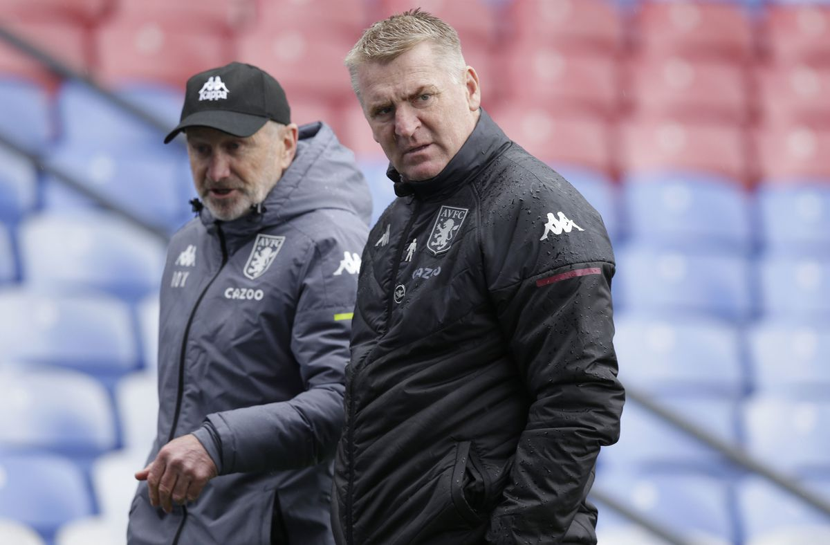 Aston Villa manager Dean Smith