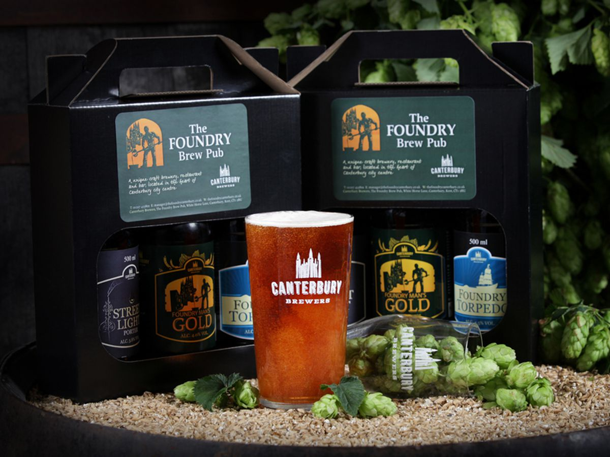 The Foundry Brew Pub Shop presentation gift pack