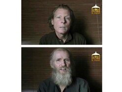US and Australian hostages freed after Taliban prisoners released