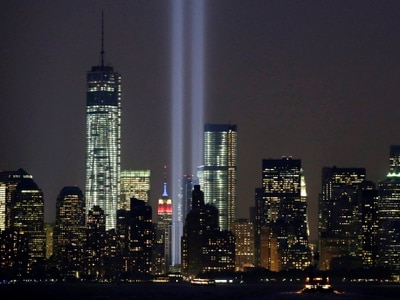 Group vows to stage twin beams of light for September 11 tribute