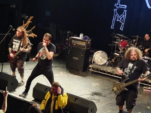 Napalm Death bring campaign of musical destruction to Birmingham - review with pictures