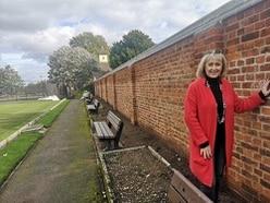 Park wall fixed despite £70,000 cost outcry