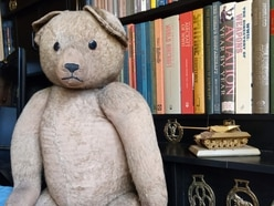 Stafford man's Second World War teddy up for auction