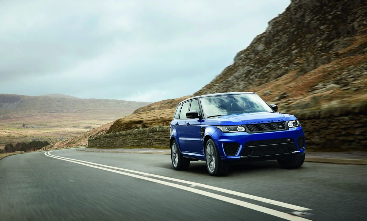 A record 24,282 Range Rover Sports were sold in the US last year