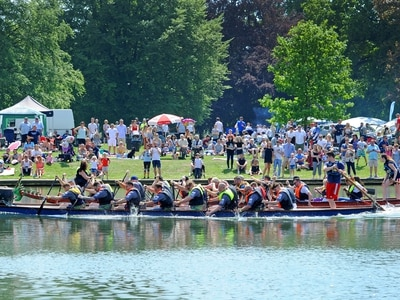Thousands turn out for annual Black Country Dragonboat event - in pictures