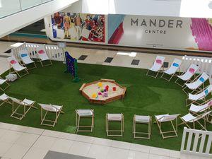 Pop-up Park at the Mander Centre