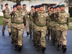 New Gurkha unit welcomed to MoD Stafford