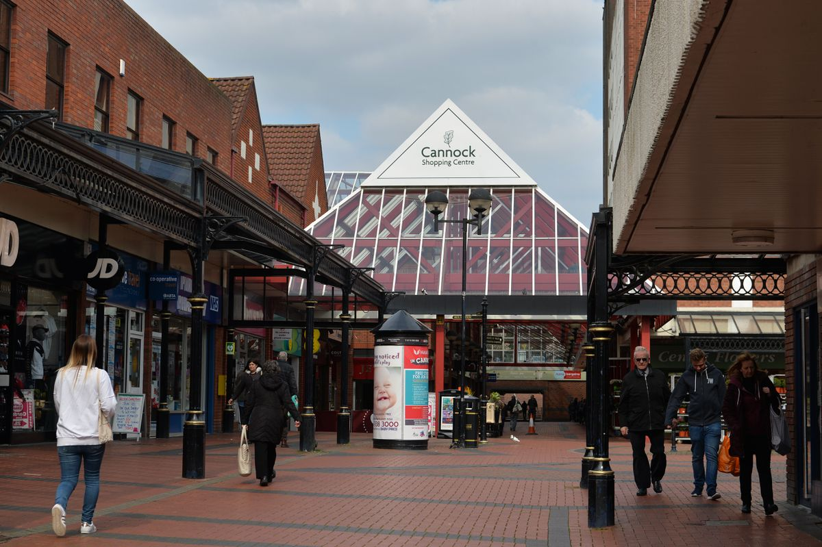 Cannock shopping centre