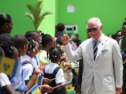 Charles and Camilla in one-day visit to St Vincent and the Grenadines