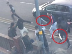 WATCH: Machete gang punch and kick victim in horrifying daylight attack