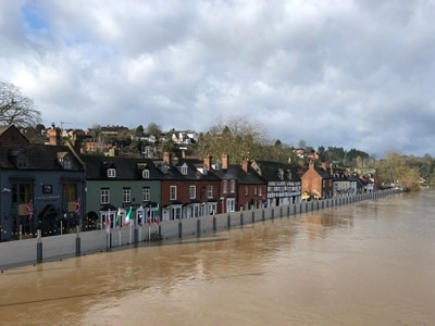 Homes at-risk as River Severn flooding nears 20-year high