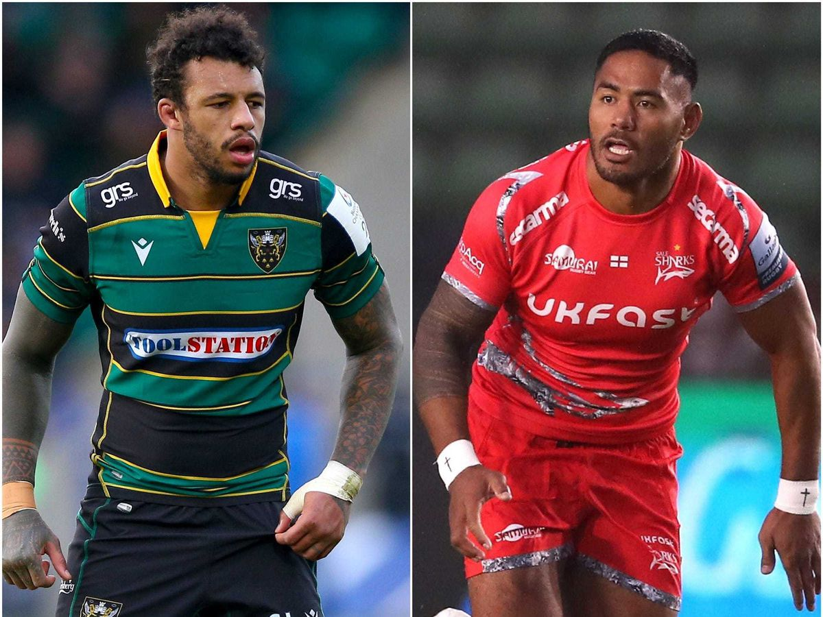 Courtney Lawes and Manu Tuilagi have suffered injuries