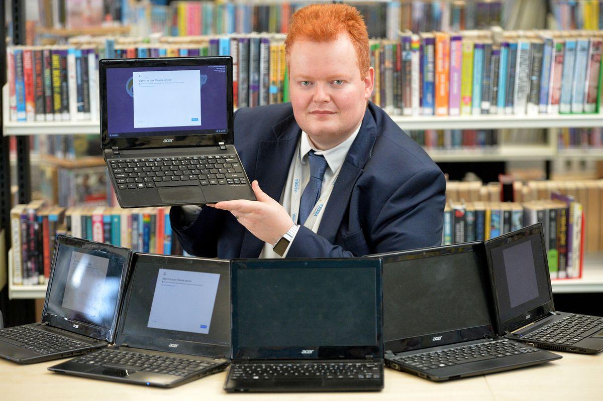 David Long, head of IT at Oldbury Academy