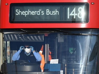 New way of using buses in London in bid to protect drivers from Covid-19