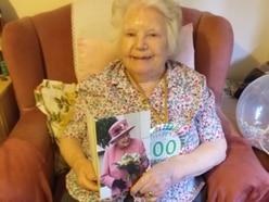 100-year-old Win's bostin' birthday bash