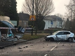 Serious crash shuts major Birmingham route