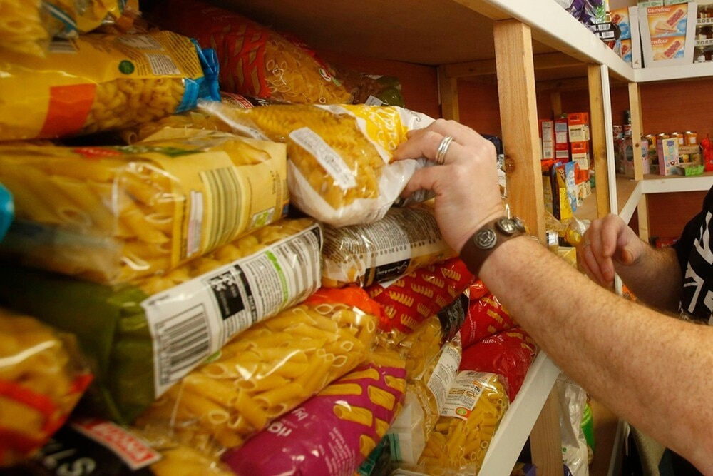 Food Banks Hand Out Emergency Parcels In Run Up To Christmas
