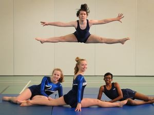 Gymnast champions from Wolverhampton school cartwheel to national victory