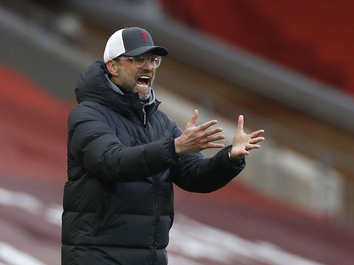 Le manager de Liverpool Jurgen Klopp
