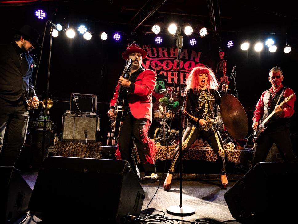 Urban Voodoo Machine rock Bilston's Robin 2 - in pictures