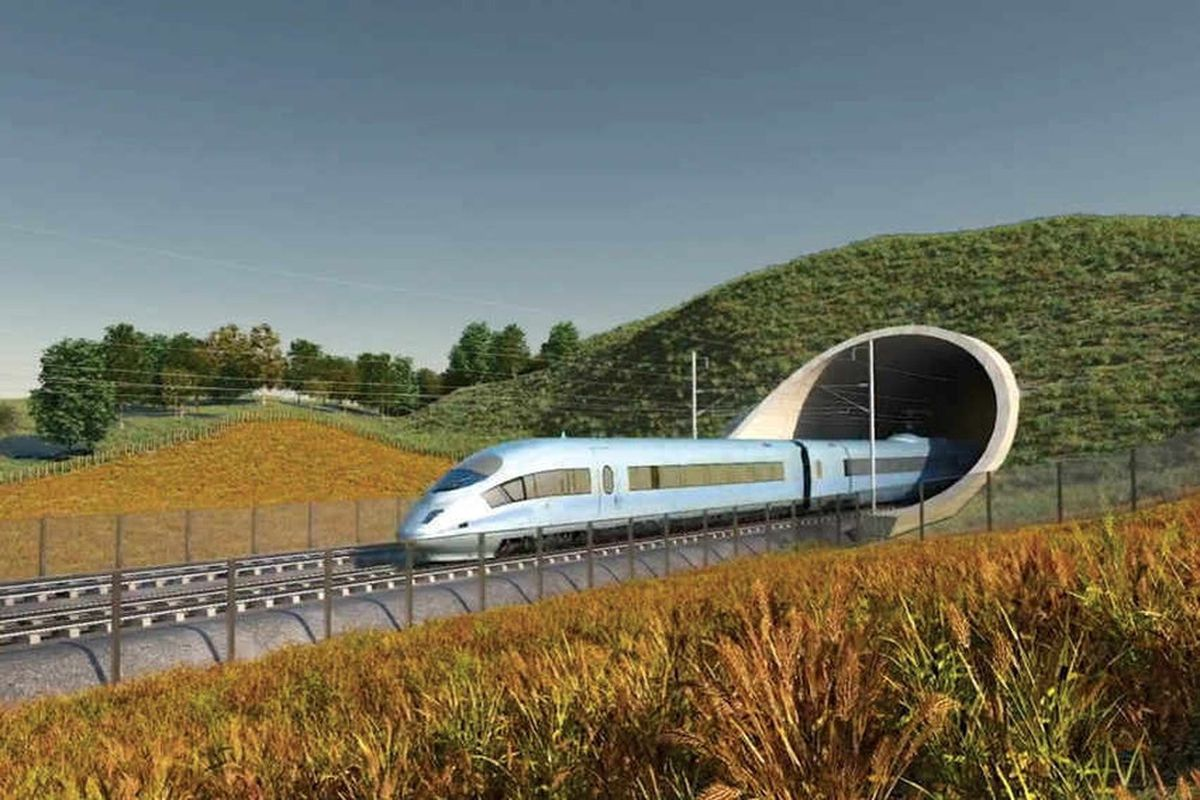 The controversial HS2 project is currently under review
