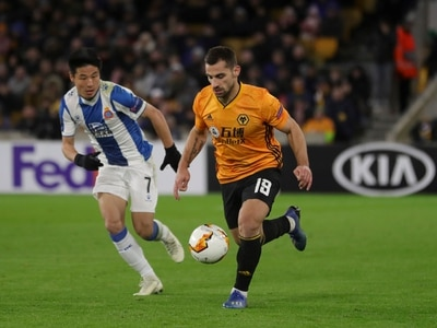 Jonny Castro Otto not in Wolves' squad for Espanyol second leg