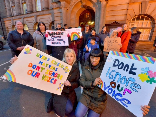 'They have failed our children': Parents protest after special school closure