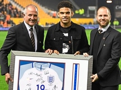 Wolves' Morgan Gibbs-White back from conquering the world