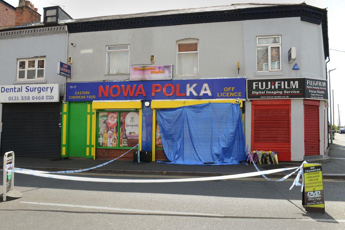 The Nowa Polka shop on Waterloo Road, Smethwick