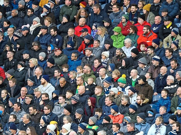 West Brom to be backed by more than 3,000 fans in Brighton
