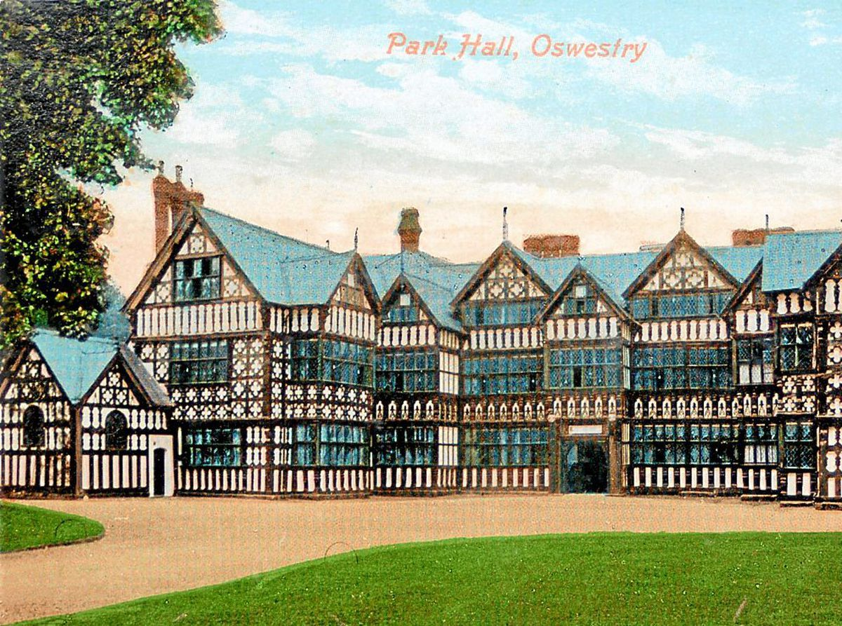 Lost - Park Hall, Oswestry.