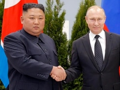 Putin hosts Kim for talks over North Korean nuclear stand-off