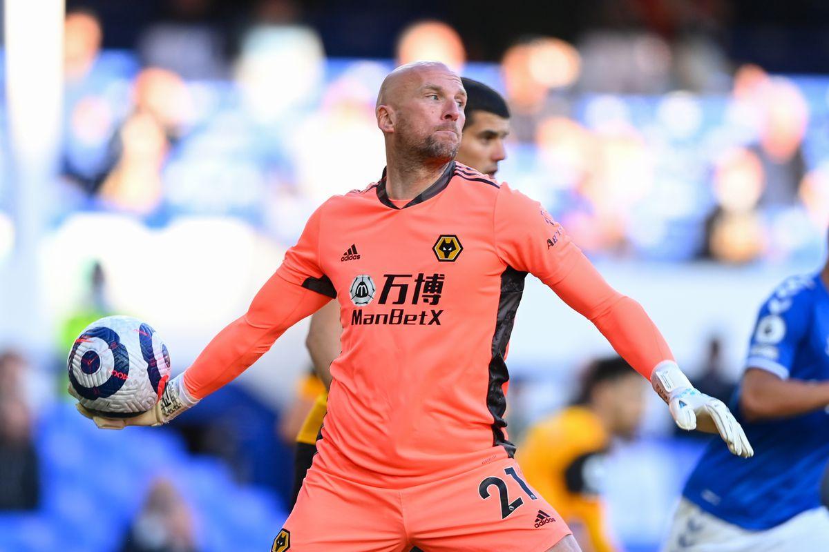 John Ruddy of Wolverhampton Wanderers.
