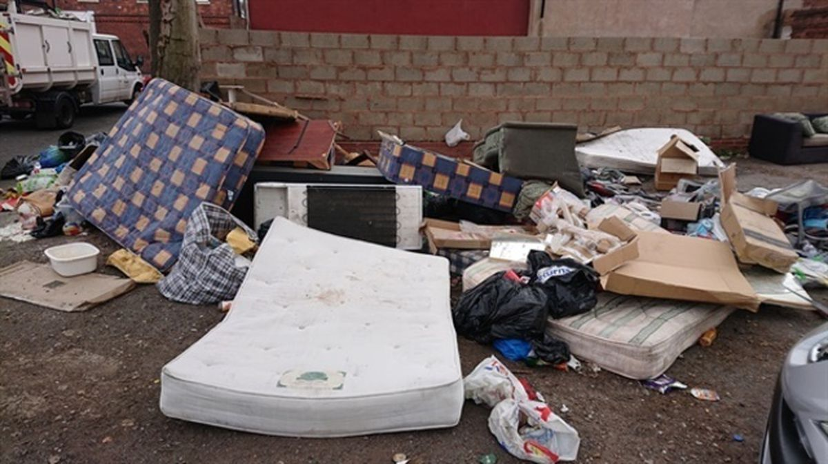 Some councils have set-up hidden cameras to catch fly-tippers