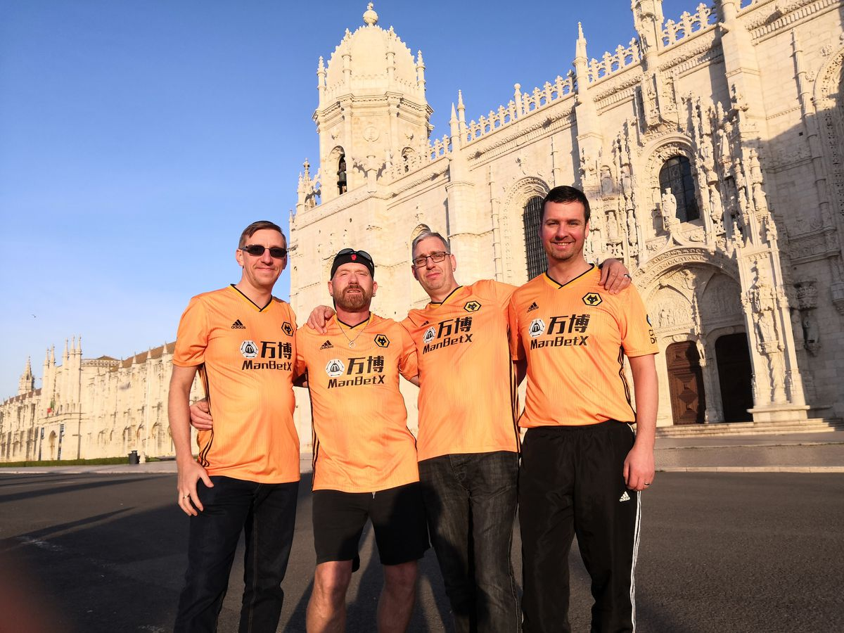 From left: Justin Scott, Mick Hammonds, Richard Badger and Craig Stewart