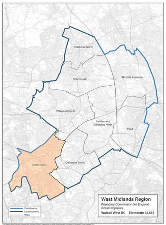 Politicians Unite To Fight Bilston Boundary Plan Express