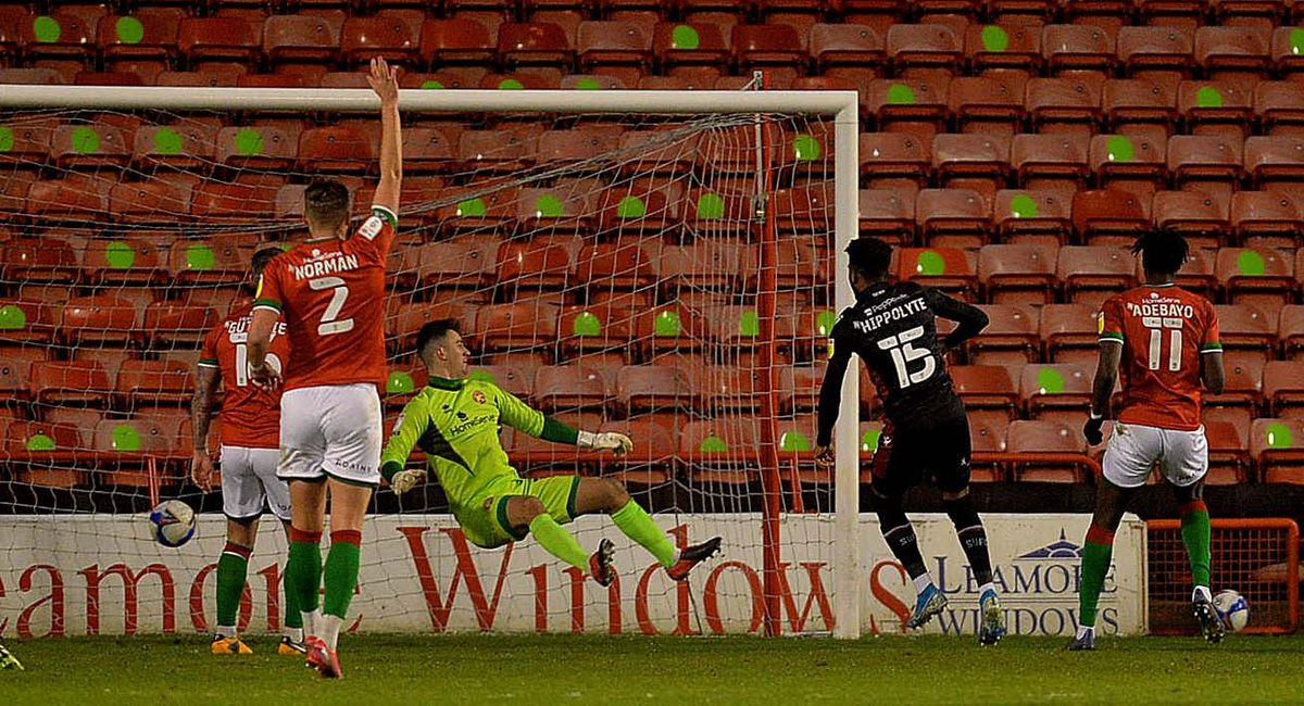 Jack Rose cant stop a goal