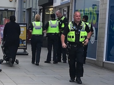 Man 'armed with knife' arrested near Dudley Market