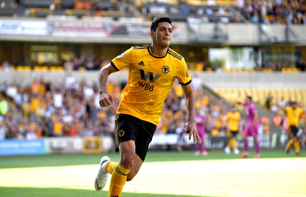 Image result for raul jimenez wolves