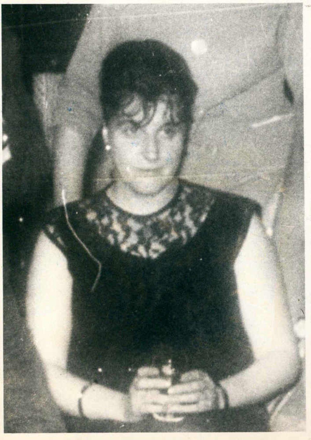 Iris Burkitt, who was shot dead at her home