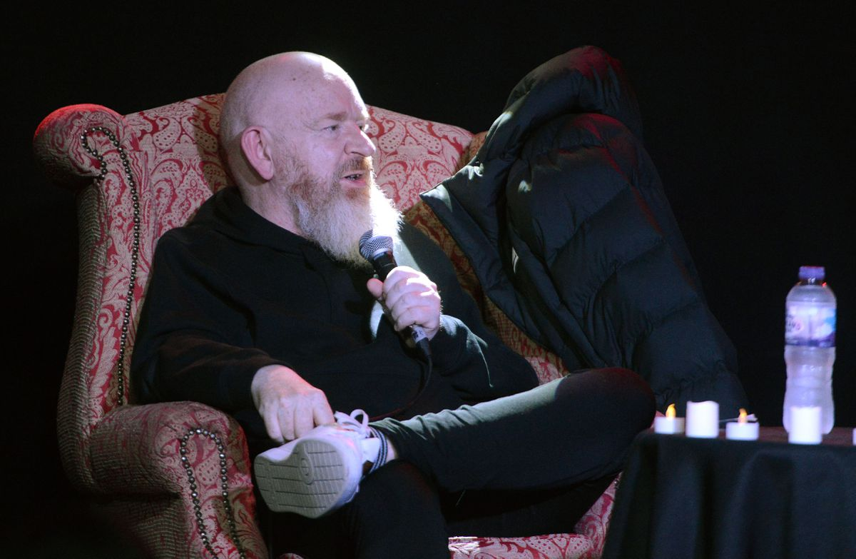 Alan McGee talking at the The Slade Rooms as part of this year's Wolverhampton Literature Festival