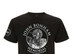 John Bonham Memorial launches exclusive T-shirt