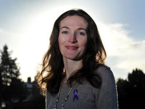 Epilepsy sufferer Angelika Barre