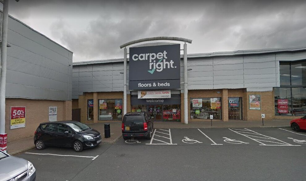 Carpetright in Telford. The flooring chain also has branches in Oswestry and Shrewsbury