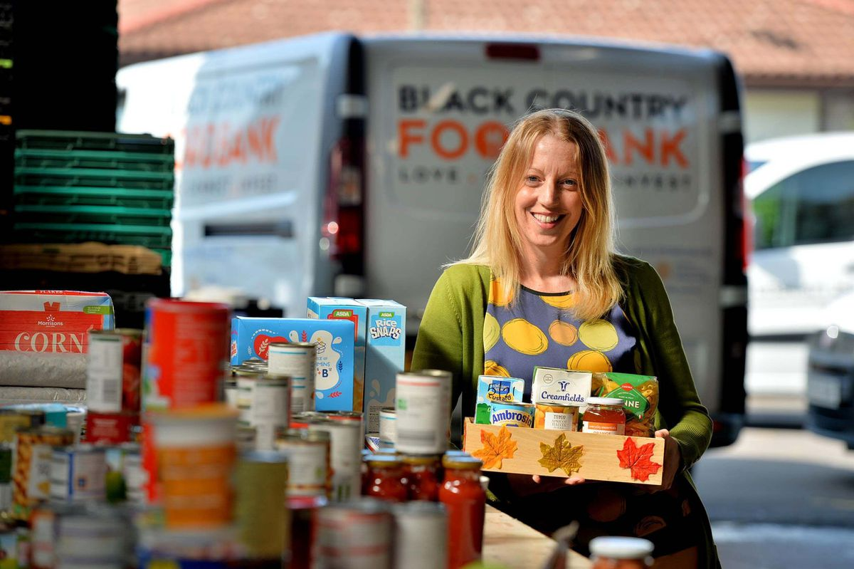 Jen Coleman of Black Country Food Bank