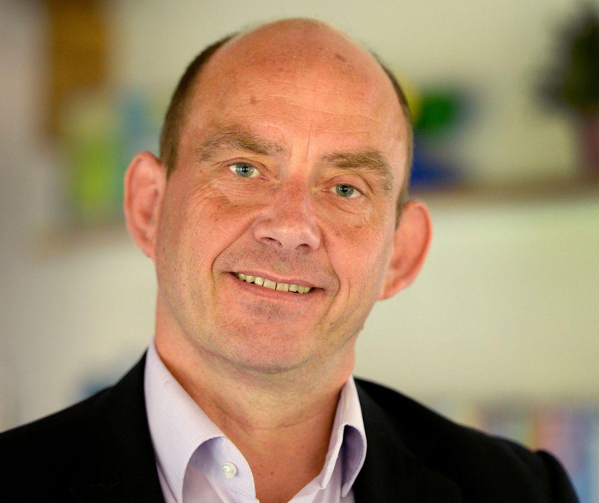 Acorns chief executive Toby Porter