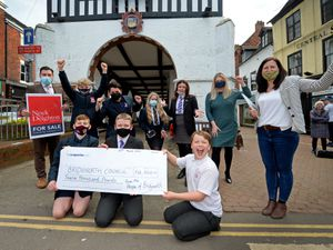 Youngsters from Bridgnorth say thank you to businesses and residents who helped raise £12,000 to save their youth club