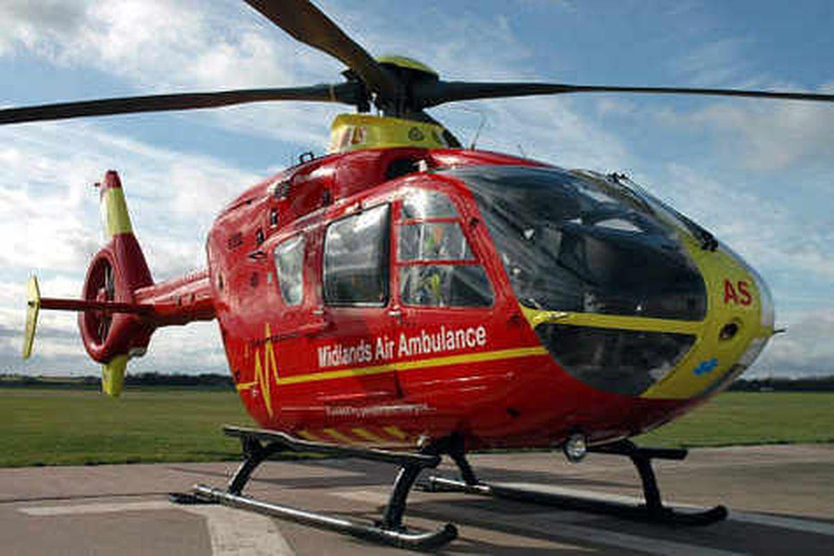 Cash woe for Midlands Air Ambulance