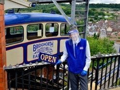 Bridgnorth Cliff Railway welcomes back visitors